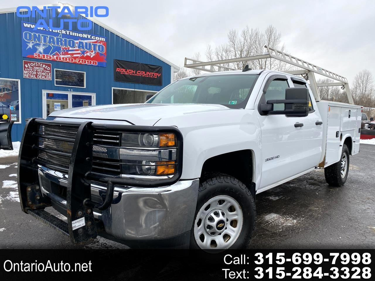 """Chevrolet Silverado 3500HD Built After Aug 14 4WD Double Cab 158.1"""" Work Truck 2015"""