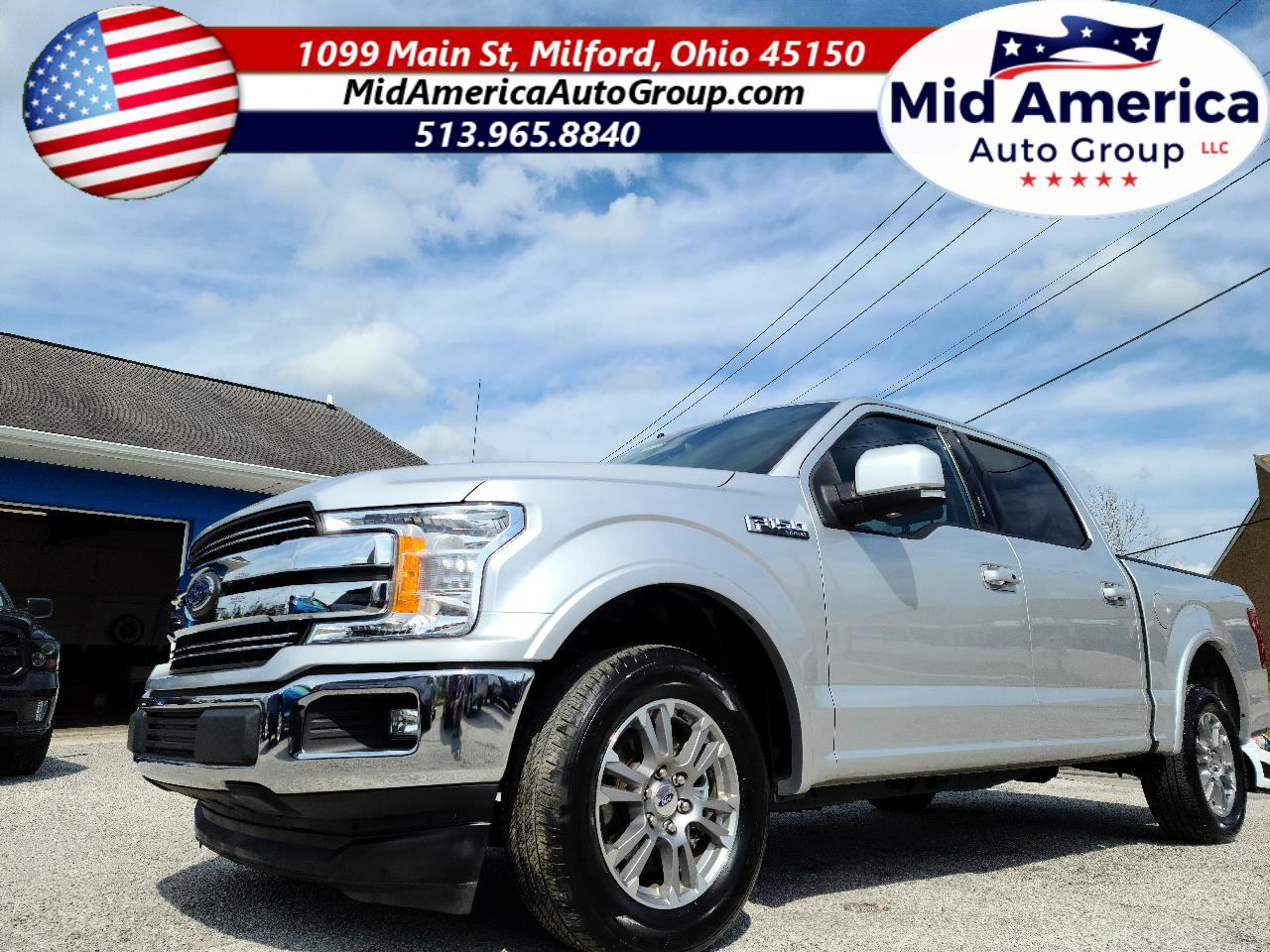 "Ford F-150 2WD SuperCrew 145"" Lariat 2019"