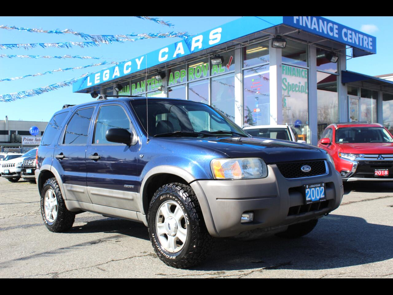 Ford Escape XLT 4WD 2002