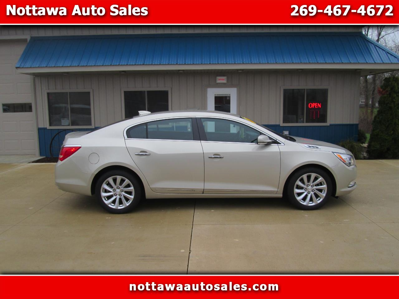 Buick LaCrosse Premium Package 1, w/Leather 2015
