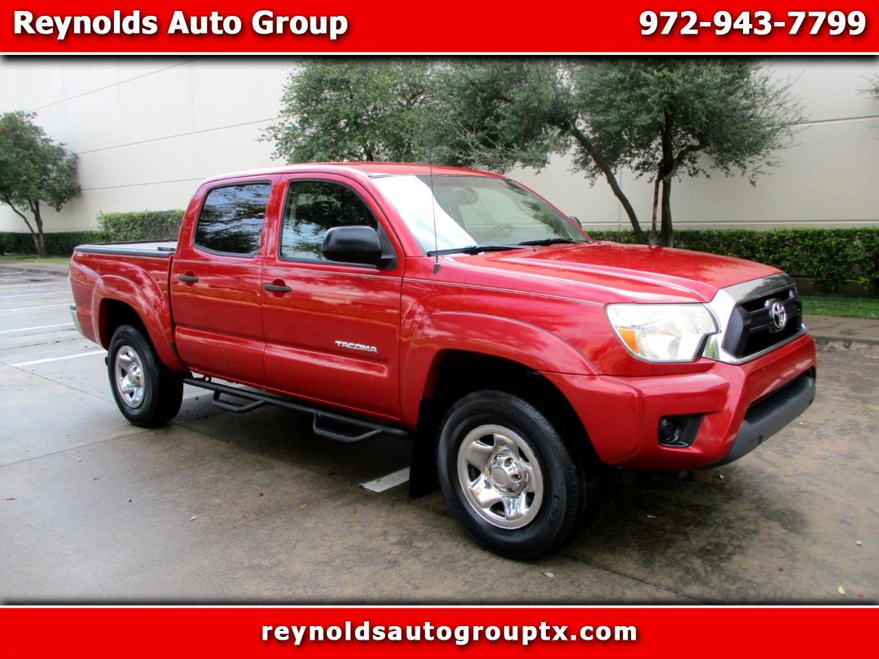 Toyota Tacoma 2WD Double Cab I4 AT PreRunner (Natl) 2012