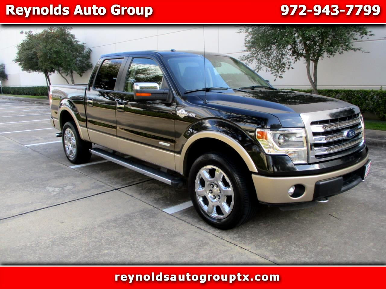 """Ford F-150 4WD SuperCrew 145"""" King Ranch 2014"""