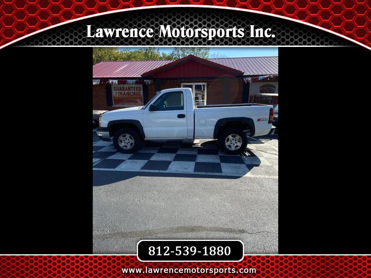 """Chevrolet Silverado 1500 Reg Cab 119.0"""" WB 4WD Work Truck 2005"""