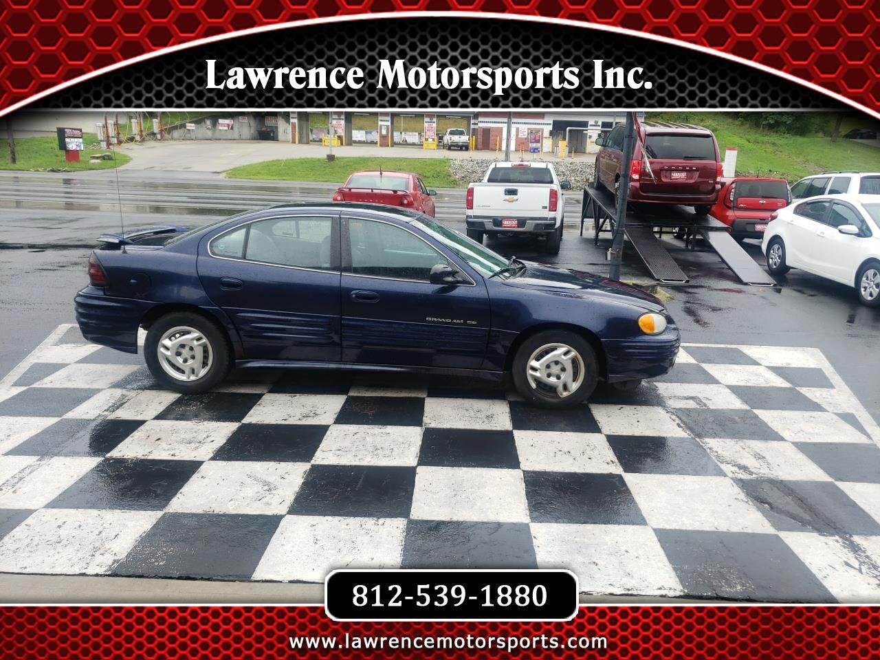 Pontiac Grand Am 4dr Sdn SE 2001