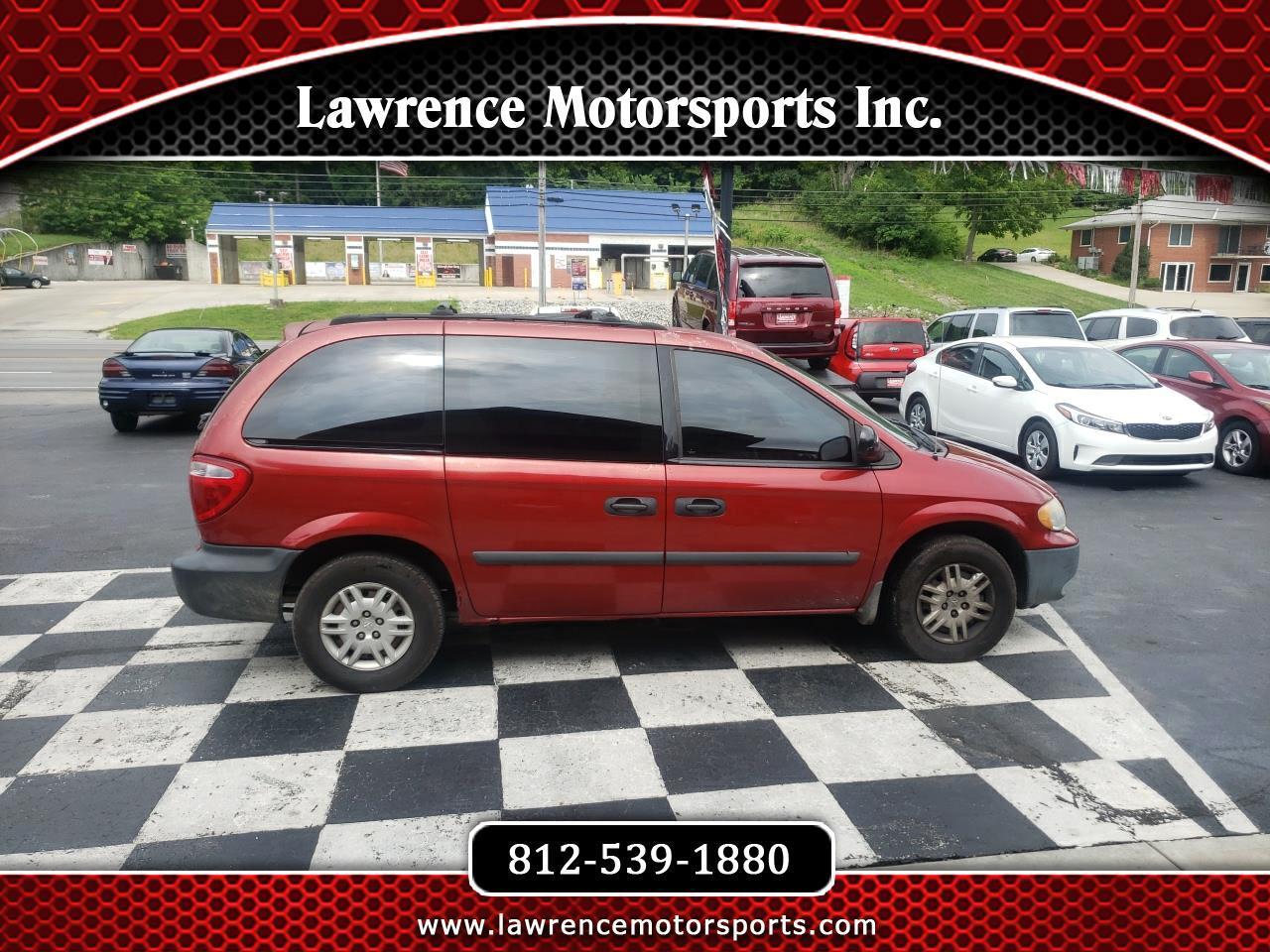 Dodge Caravan 4dr SE 2006
