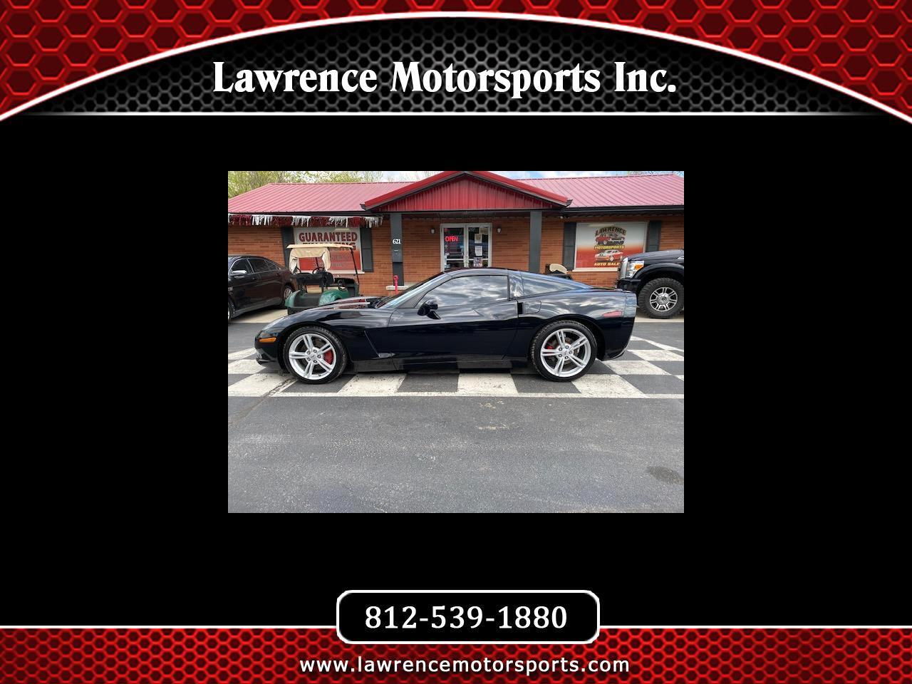 Chevrolet Corvette 2dr Cpe 2008