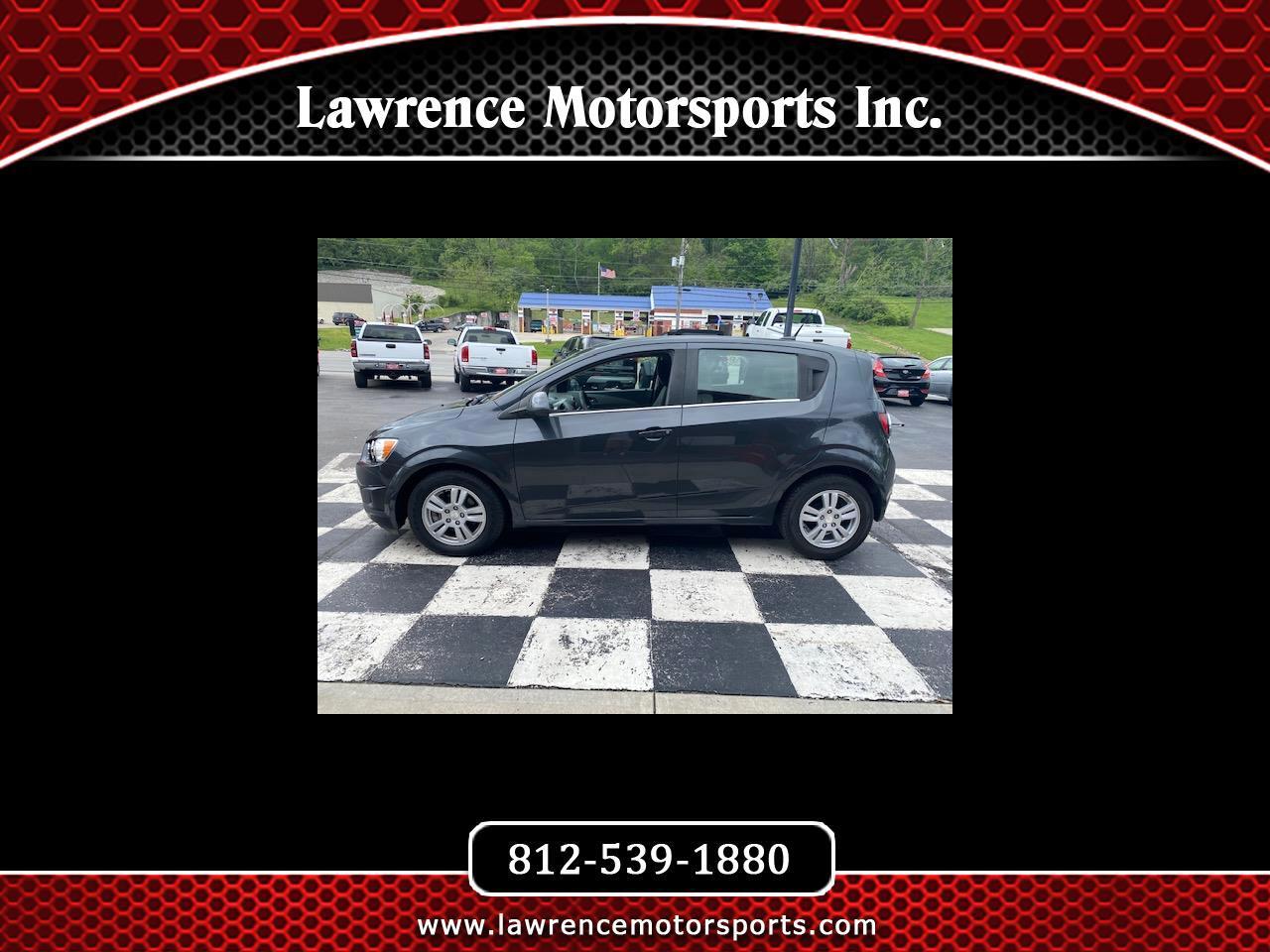 Chevrolet Sonic 5dr HB Auto LT 2014