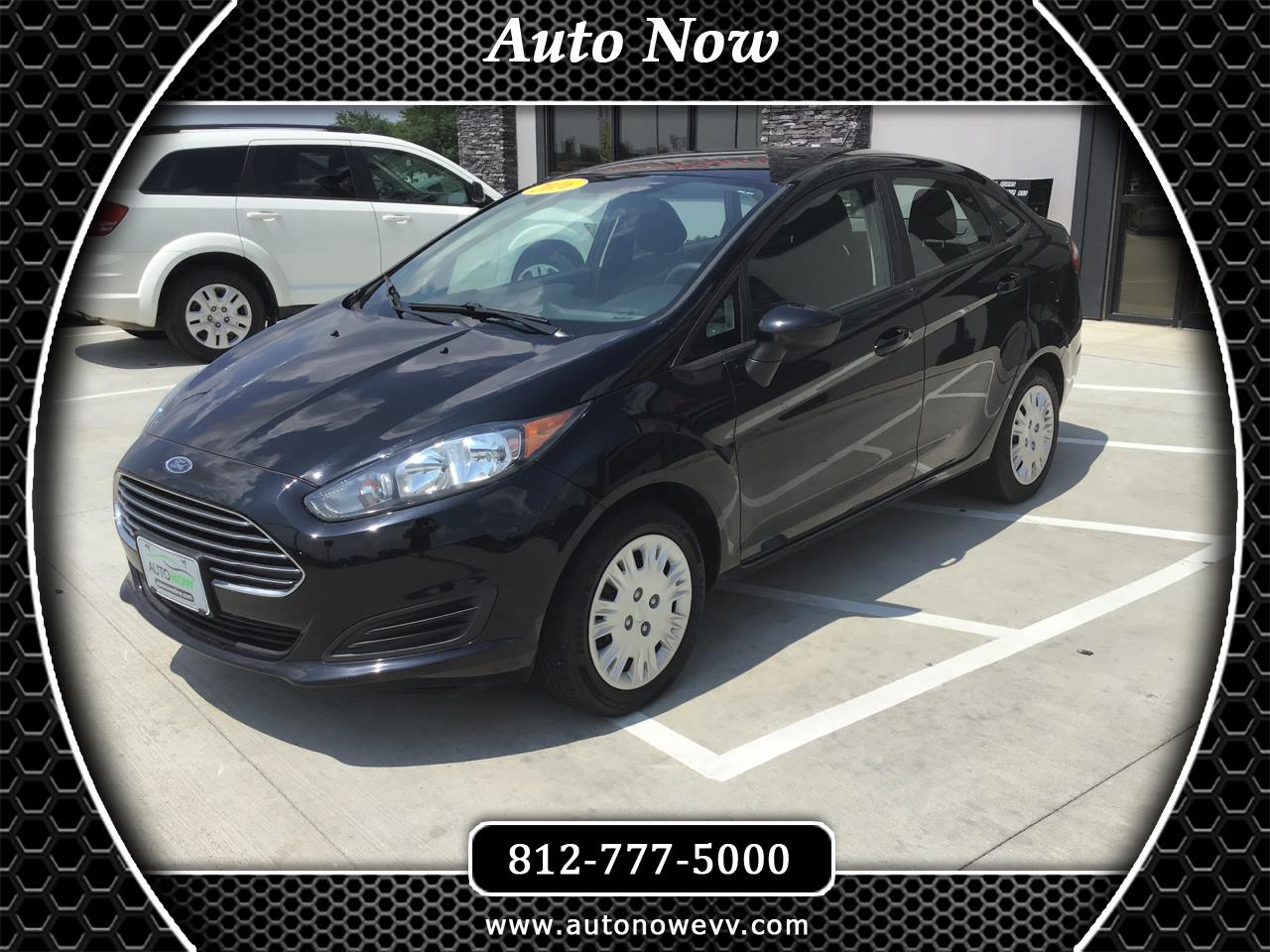 Ford Fiesta 4dr Sdn S 2016