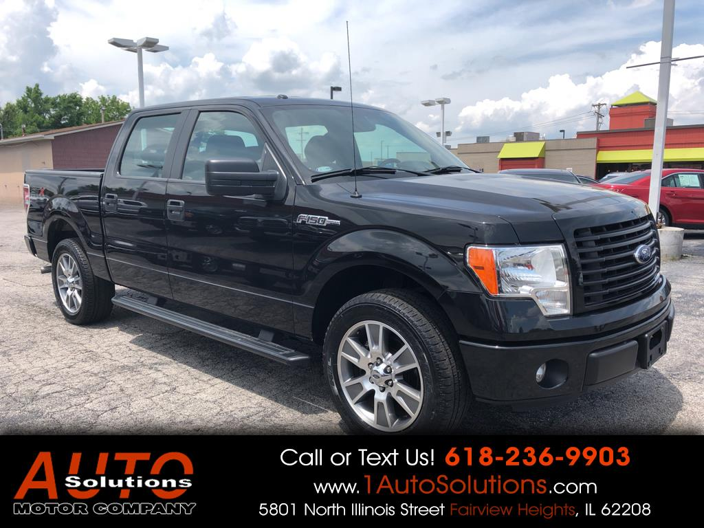"2014 Ford F-150 2WD SuperCrew 145"" STX"