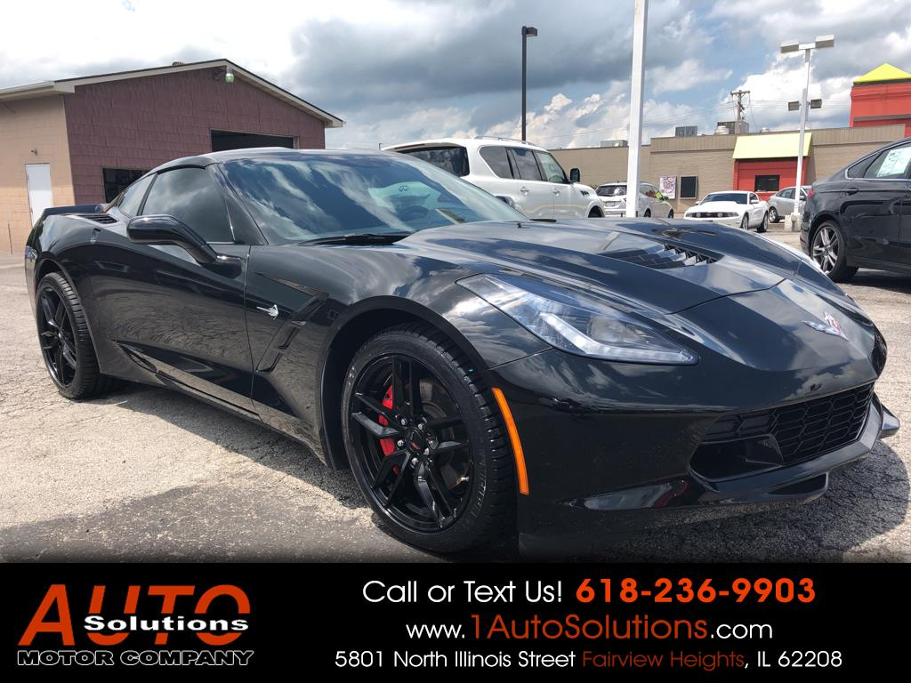 2014 Chevrolet Corvette Stingray 2dr Cpe w/3LT