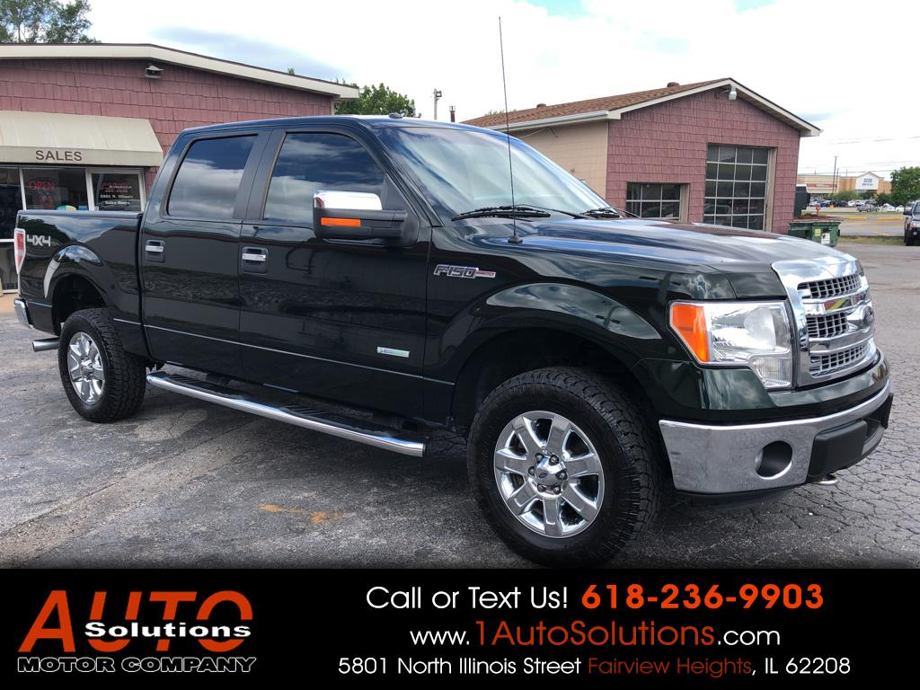 2014 Ford F-150 XLT SuperCrew Short Box 4WD