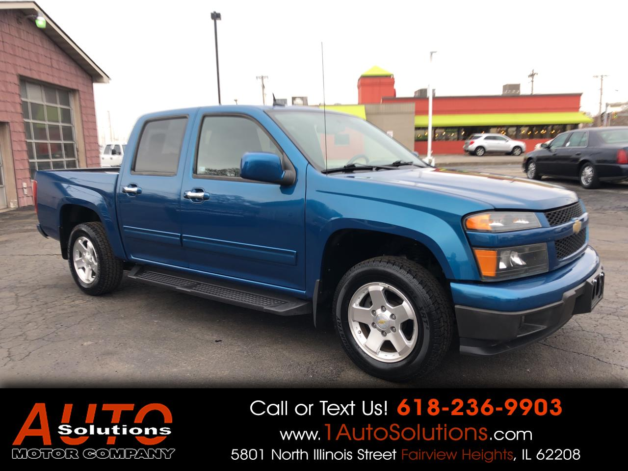 2011 Chevrolet Colorado 2WD Crew Cab 126.0