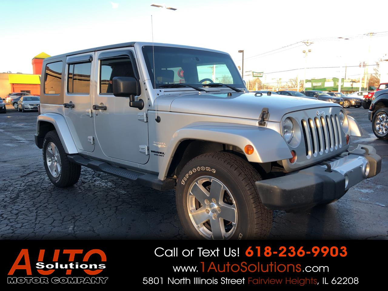 2009 Jeep Wrangler Unlimited 4WD 4dr Sahara