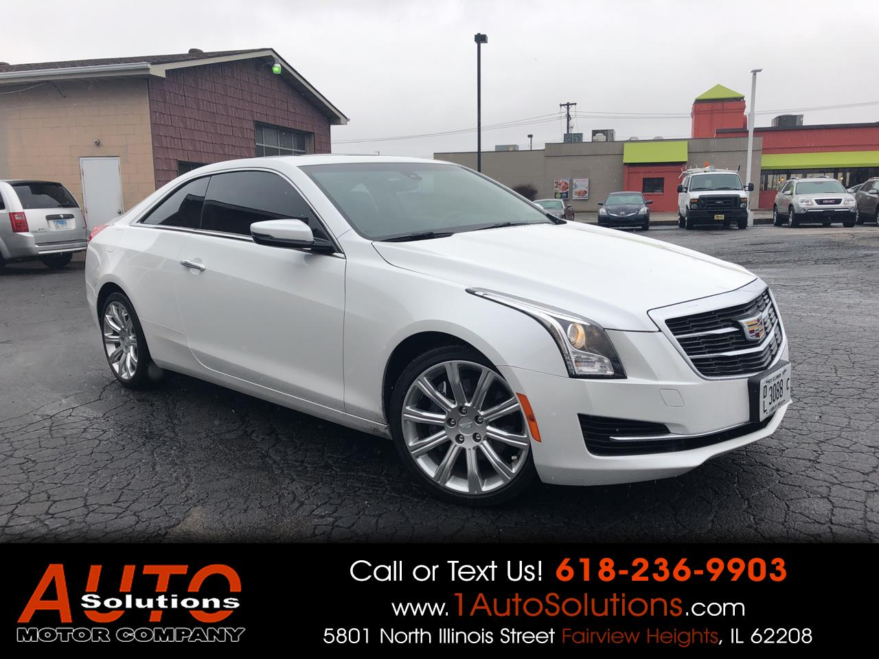 2015 Cadillac ATS Coupe 2dr Cpe 2.0L Luxury AWD