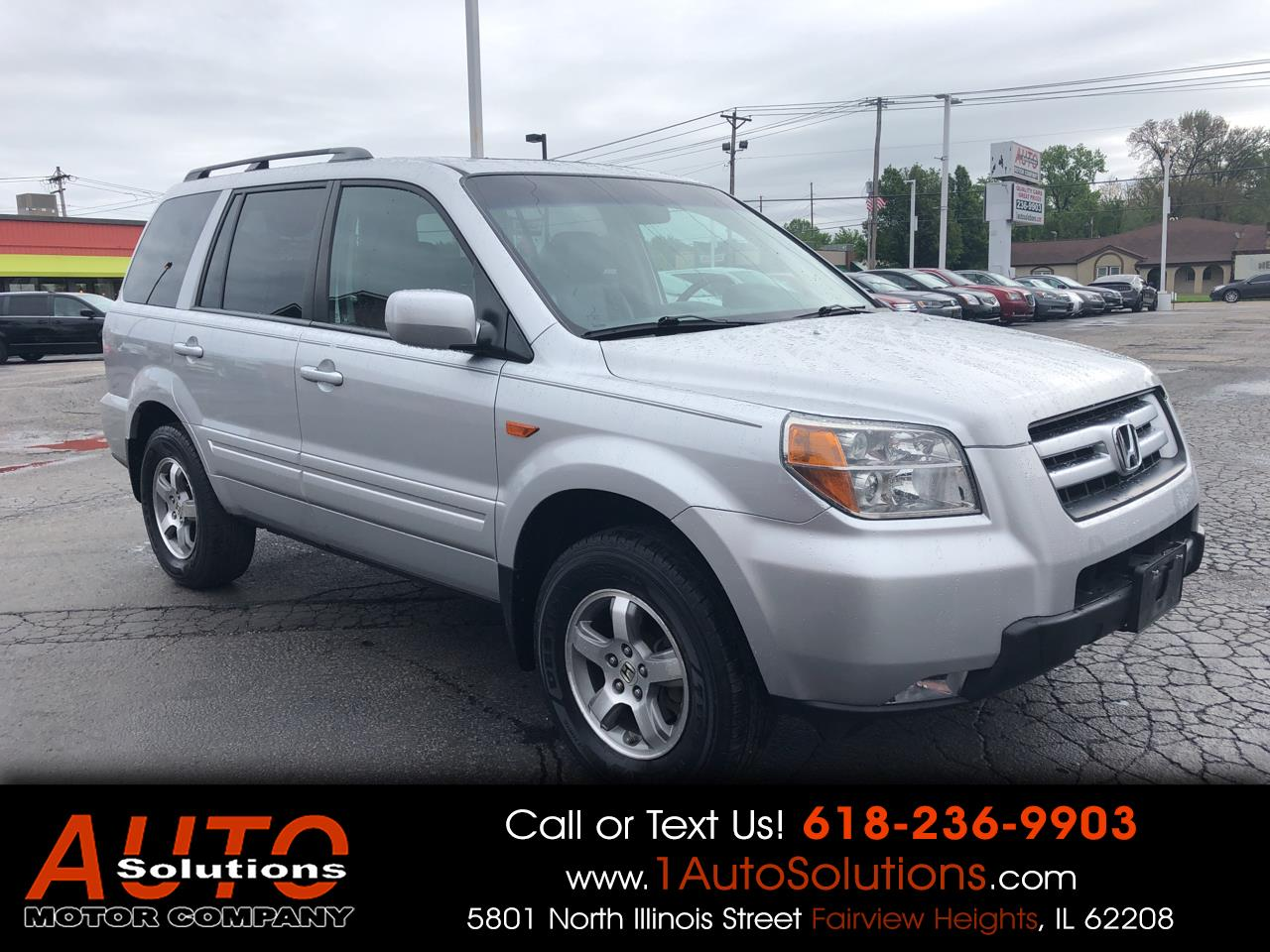 2006 Honda Pilot 4WD EX-L AT with NAVI