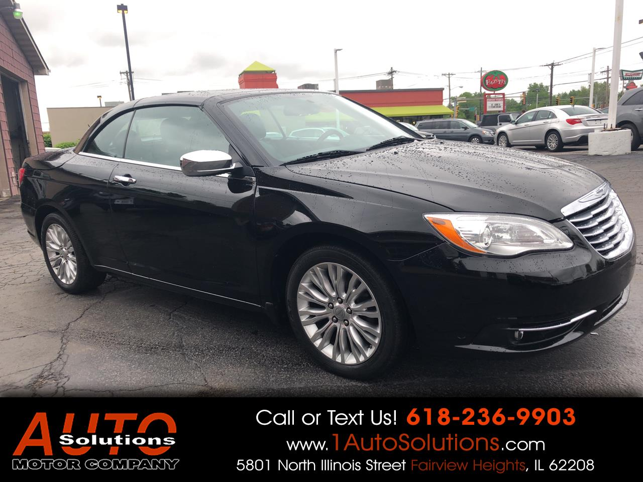 2013 Chrysler 200 2dr Conv Limited