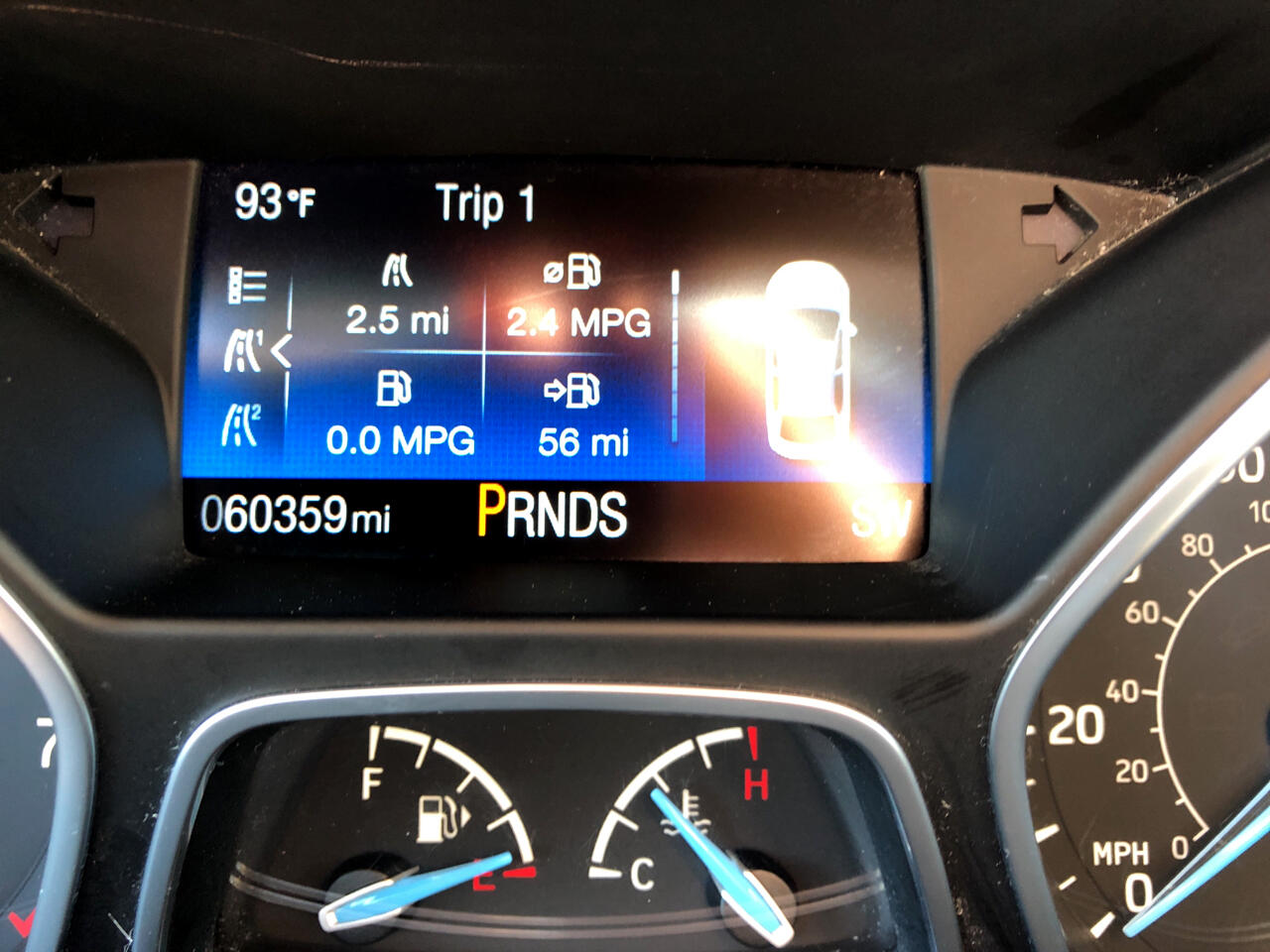 2016 Ford Focus 4dr Sdn Titanium