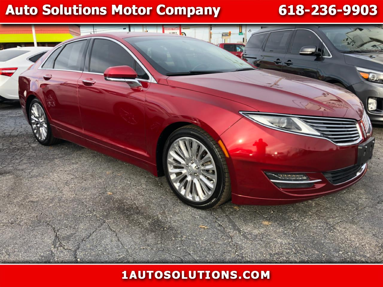Lincoln MKZ 4dr Sdn AWD 2013
