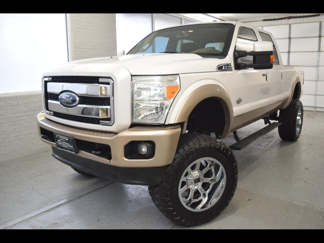 Ford F-250 SD King Ranch Crew Cab 4WD 2012