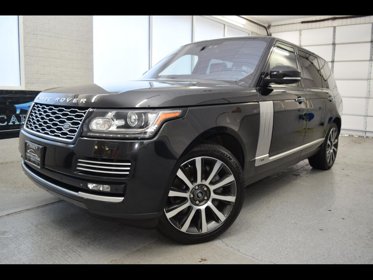 Land Rover Range Rover 4WD 4dr Autobiography Black LWB 2014