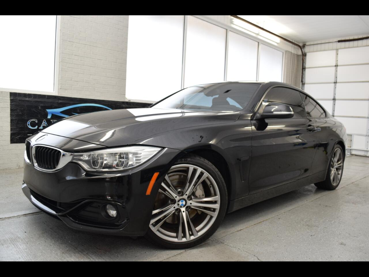BMW 4-Series 435i coupe 2014