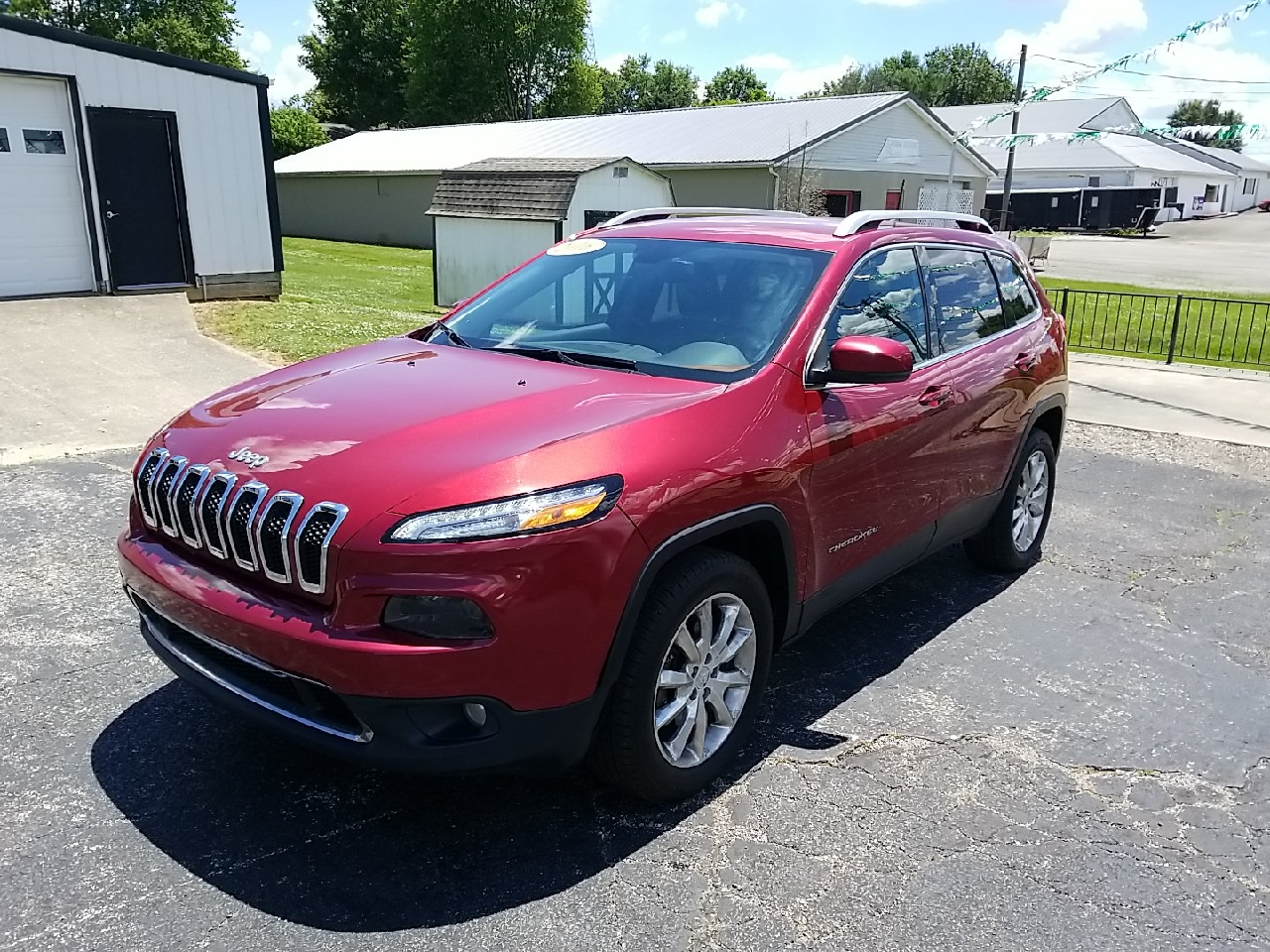 Jeep Cherokee Limited 4WD 2016