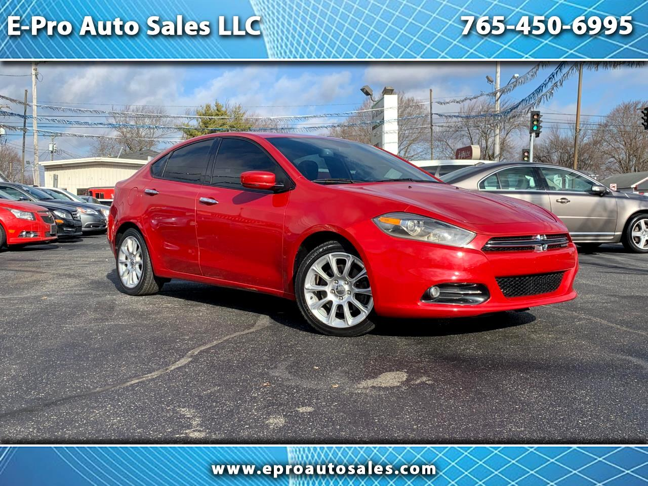 Used 2013 Dodge Dart Sold In Kokomo In 46901 E Pro Auto Sales Llc