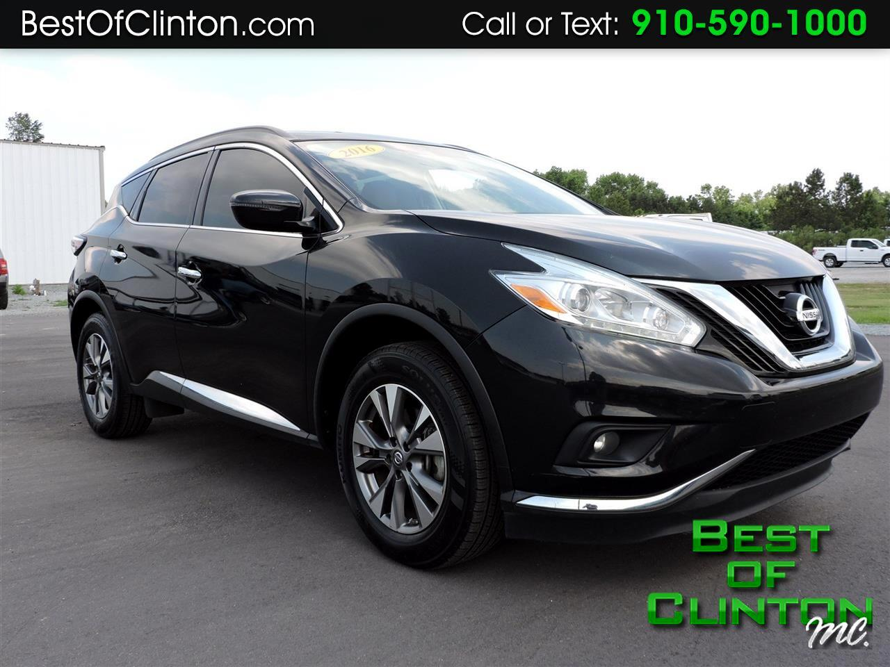 2016 Nissan Murano FWD 4dr S
