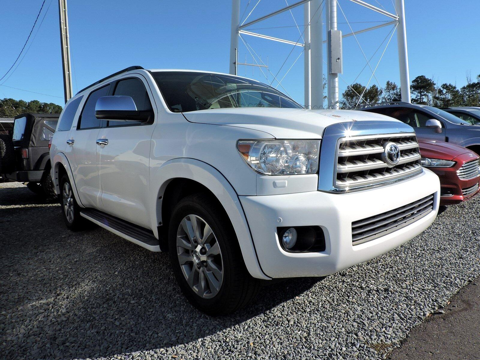 Toyota Sequoia RWD 5.7L Limited (Natl) 2012