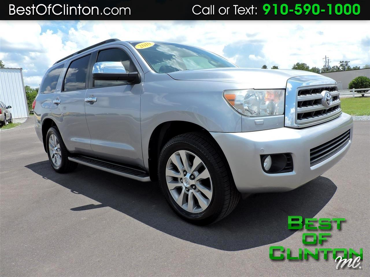 2010 Toyota Sequoia RWD LV8 6-Spd AT Ltd (Natl)
