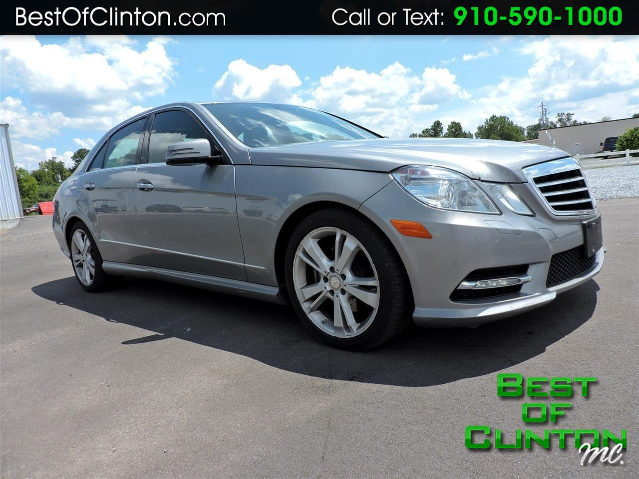 2013 Mercedes-Benz E-Class 4dr Sdn E 350 Luxury 4MATIC *Ltd Avail*