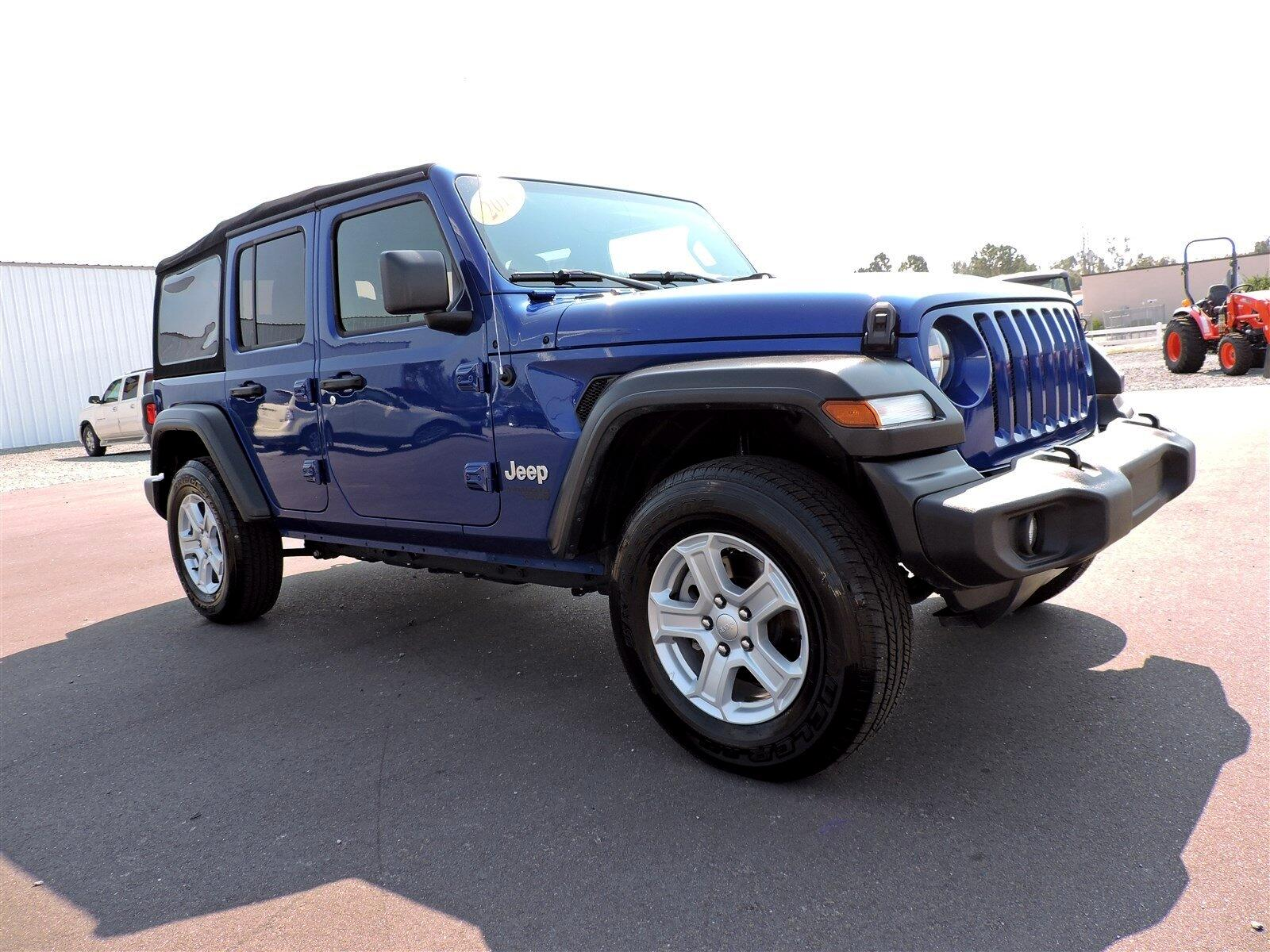 Jeep Wrangler Unlimited Sport S 4x4 2018