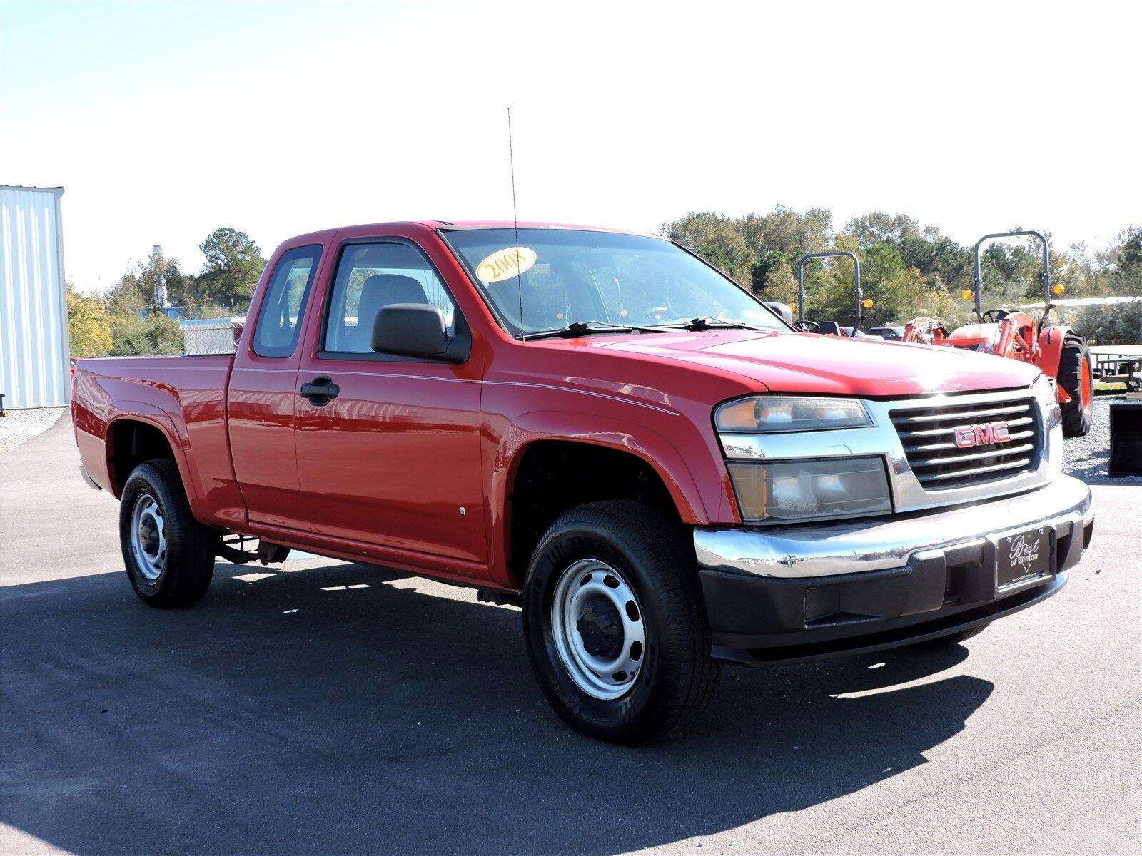 """GMC Canyon 4WD Ext Cab 125.9"""" Work Truck 2008"""