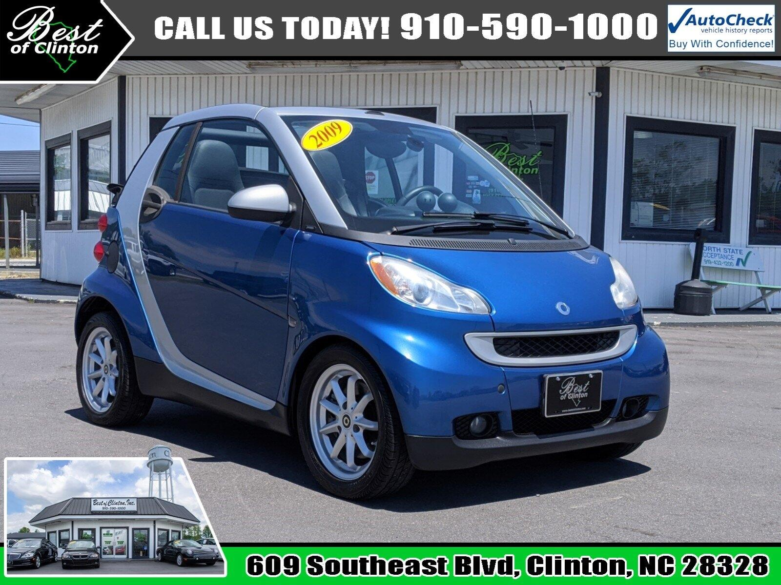 smart Fortwo 2dr Cabriolet Passion 2009