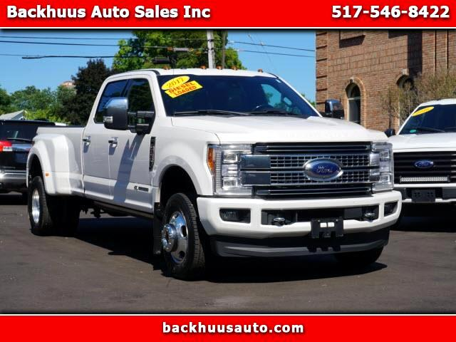 Ford F-350 SD Platinum Crew Cab Long Box 4WD DRW 2017