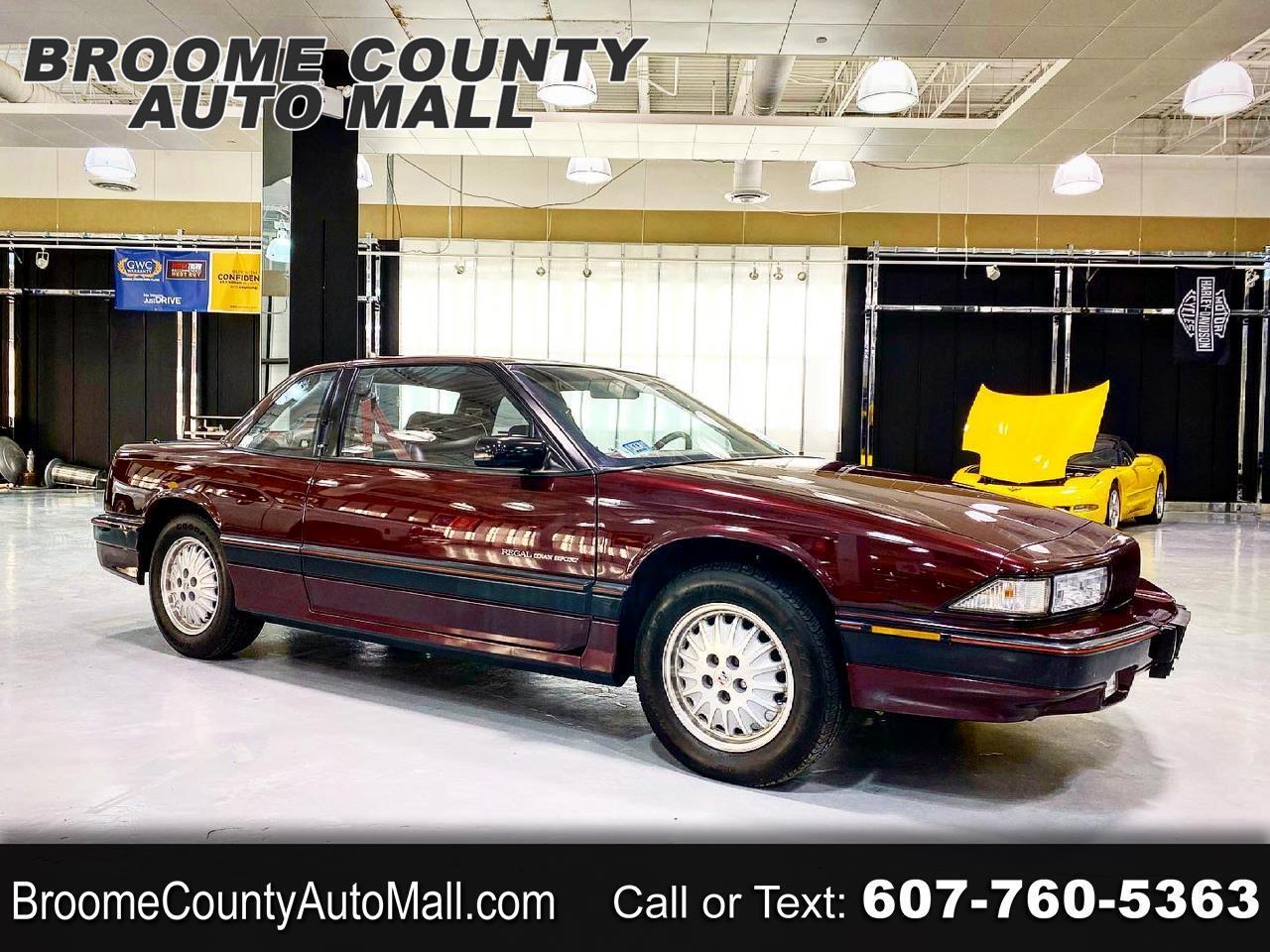 Buick Regal Gran Sport coupe 1992