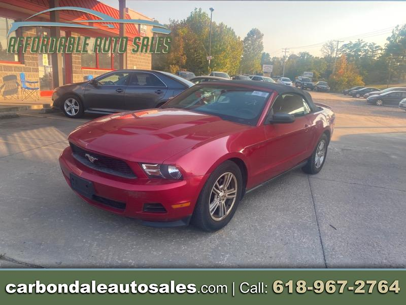Ford Mustang V6 Convertible 2011