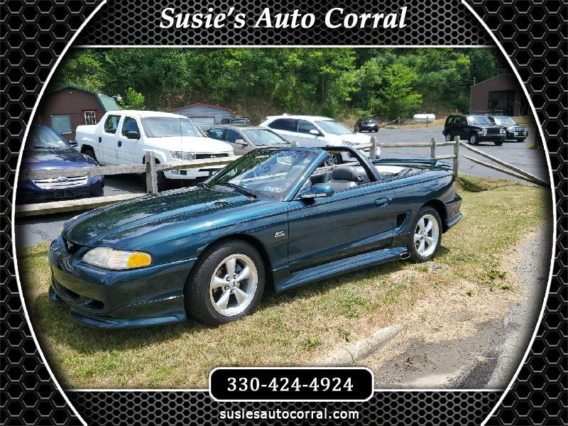 Ford Mustang GT convertible 1995