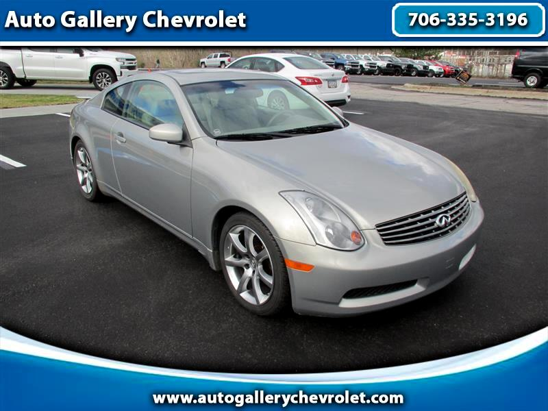 Infiniti G35 Coupe with Leather 2004