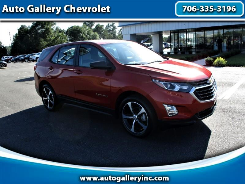 Used 2020 Chevrolet Equinox Ls 4d Suv Fwd For Sale In Commerce Ga 30529 Auto Gallery Chevrolet