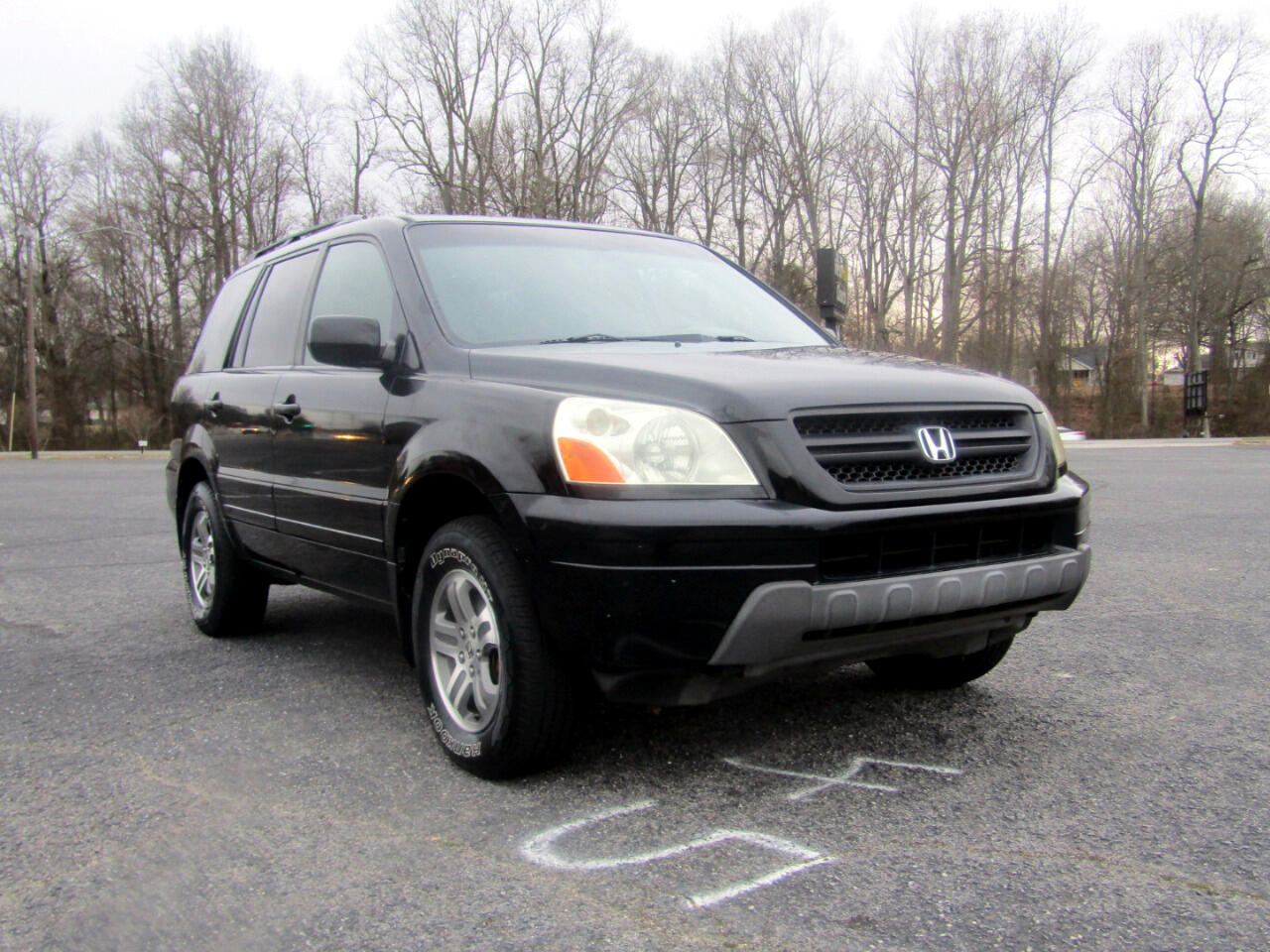 Honda Pilot EX w/ Leather and DVD 2004