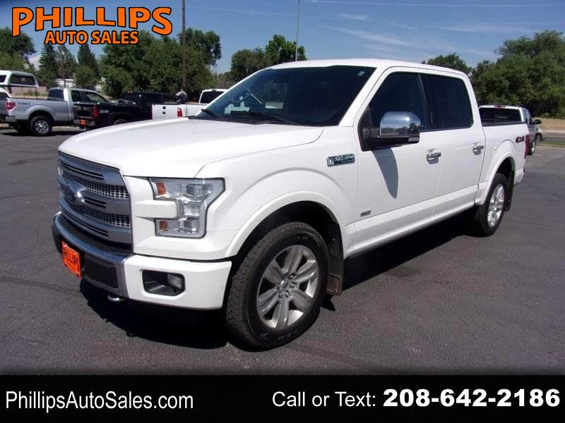Ford F-150 SuperCrew 4WD 2016