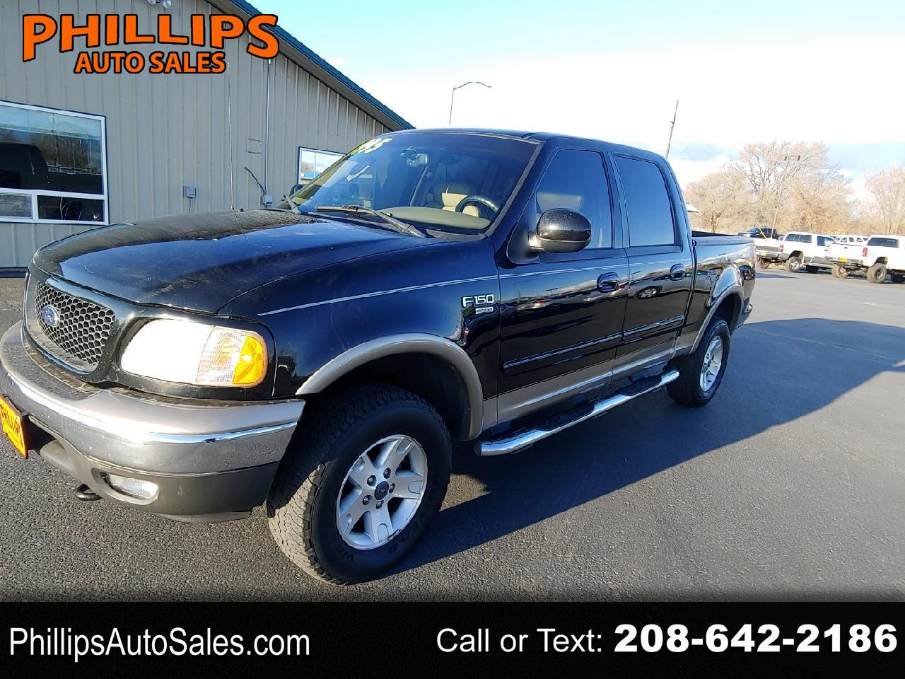"Ford F-150 SuperCrew 139"" Lariat 4WD 2003"