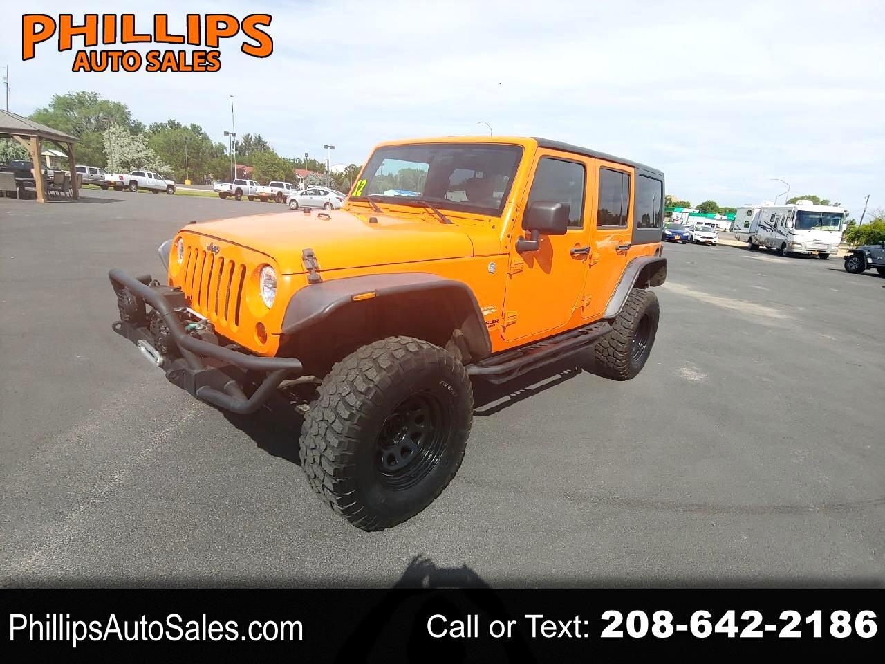 Jeep Wrangler Unlimited 4WD 4dr Sahara 2012