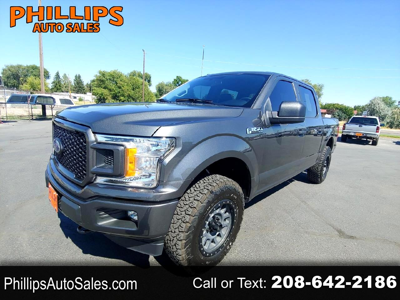 "Ford F-150 4WD SuperCab 145"" STX 2018"