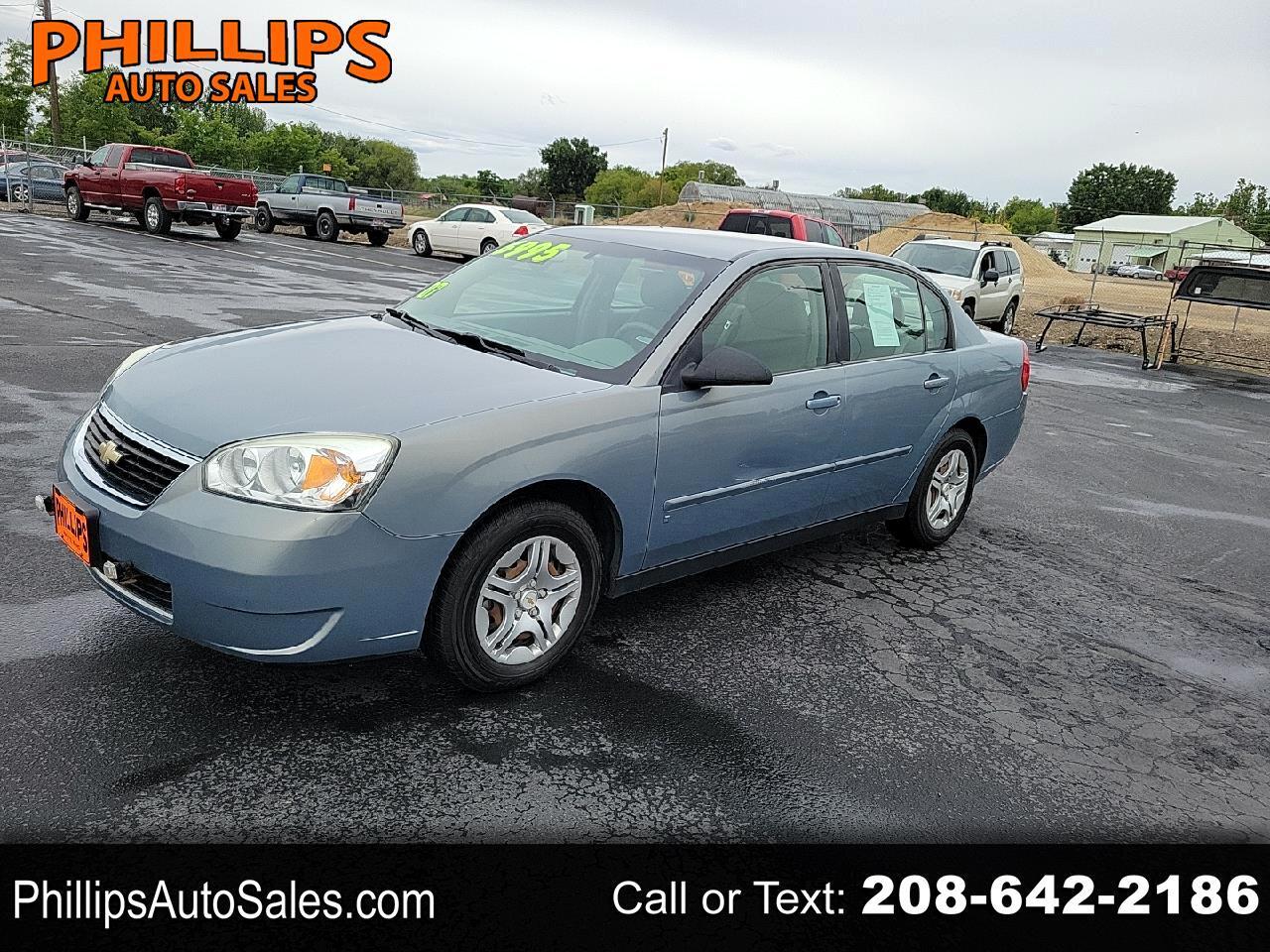 Chevrolet Malibu 4dr Sdn LS w/1LS 2007