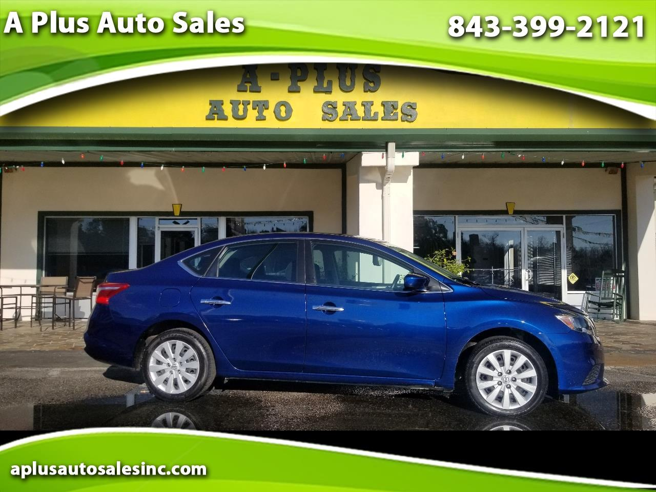 Used 2019 Nissan Sentra S Cvt For Sale In Little River Sc 29566 A Plus Auto Sales