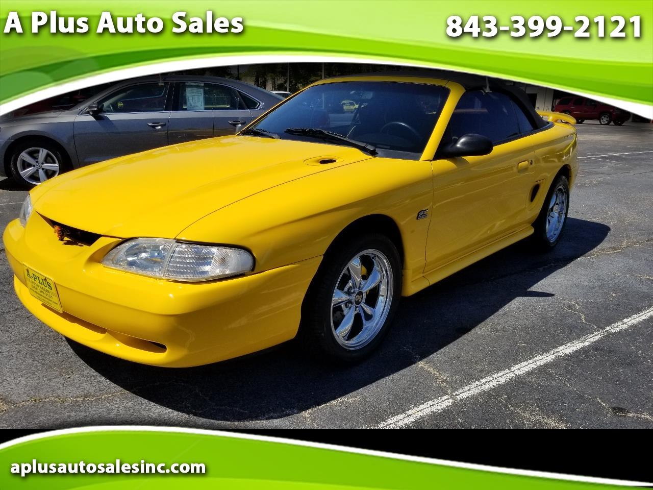 Ford Mustang 2dr Convertible GT 1995