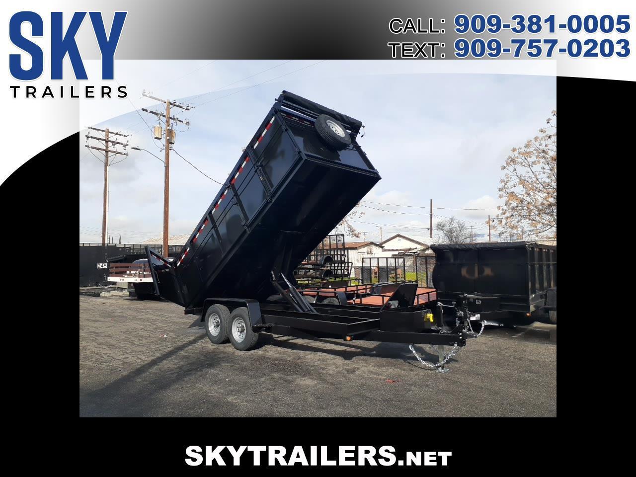 Sky Trailers Dump Trailer  2020