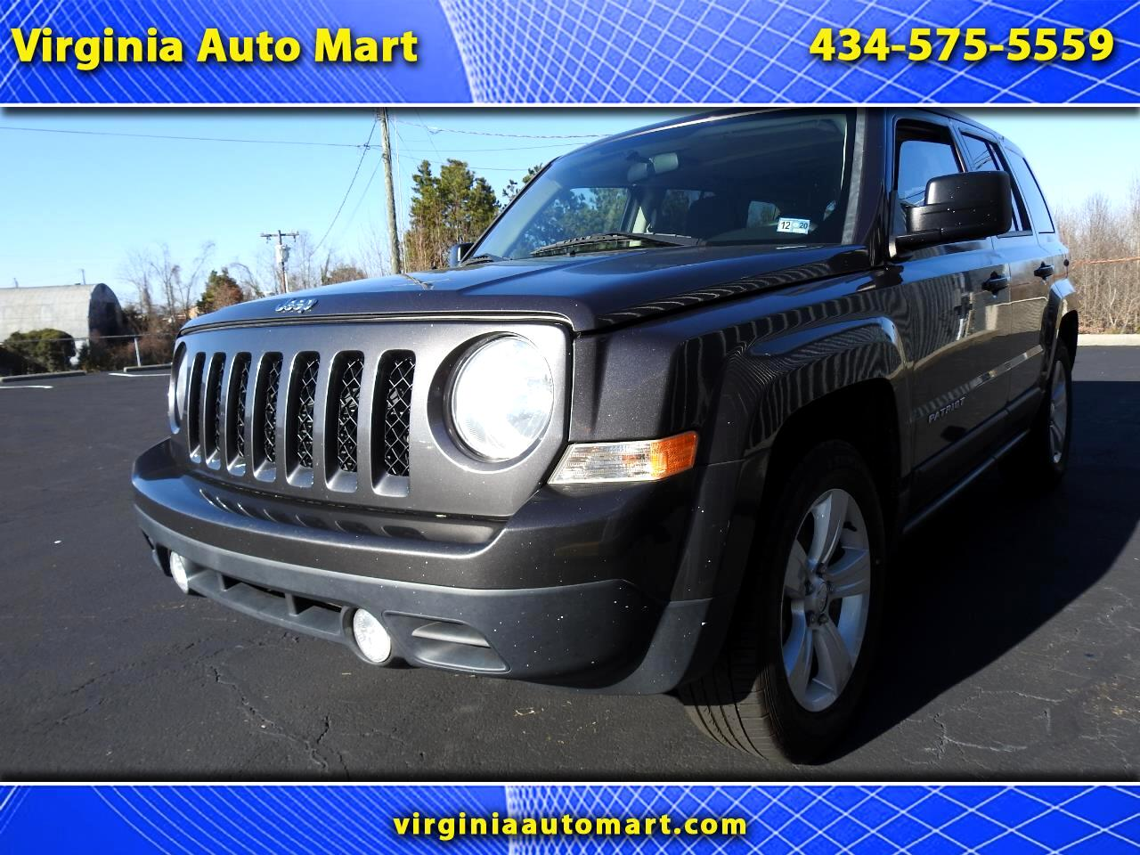 Jeep Patriot FWD 4dr Latitude 2014
